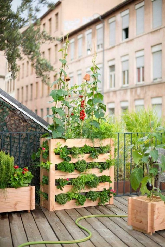 diy jardim vestical 11