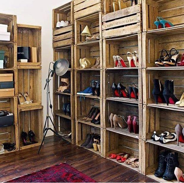 diy organizar sapatos 14