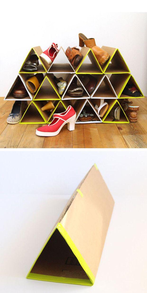 diy organizar sapatos 8