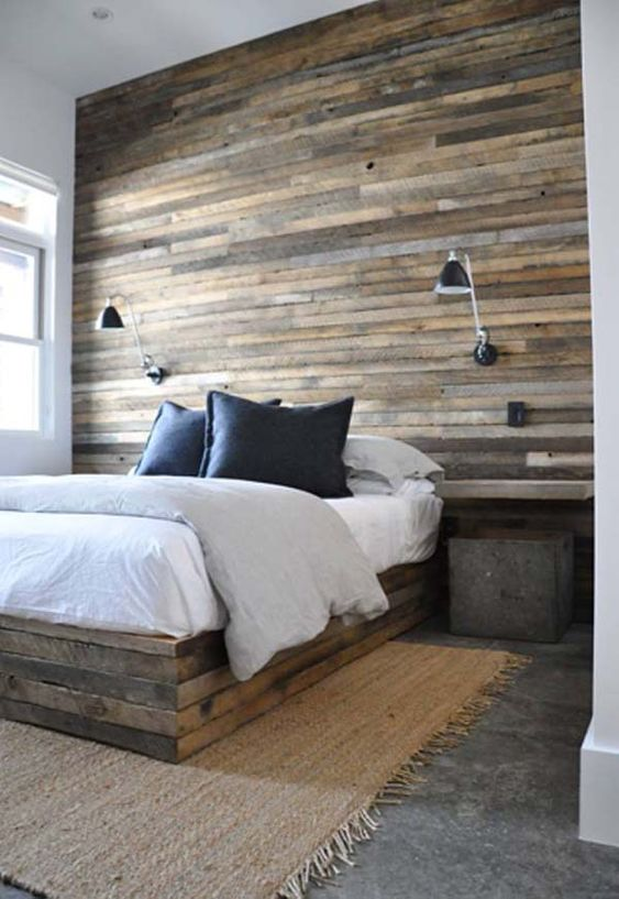 diy parede destaque madeira 1