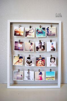 diy quadro fotos 9