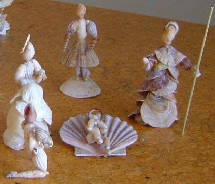 enfeites natal conchas criativas 1