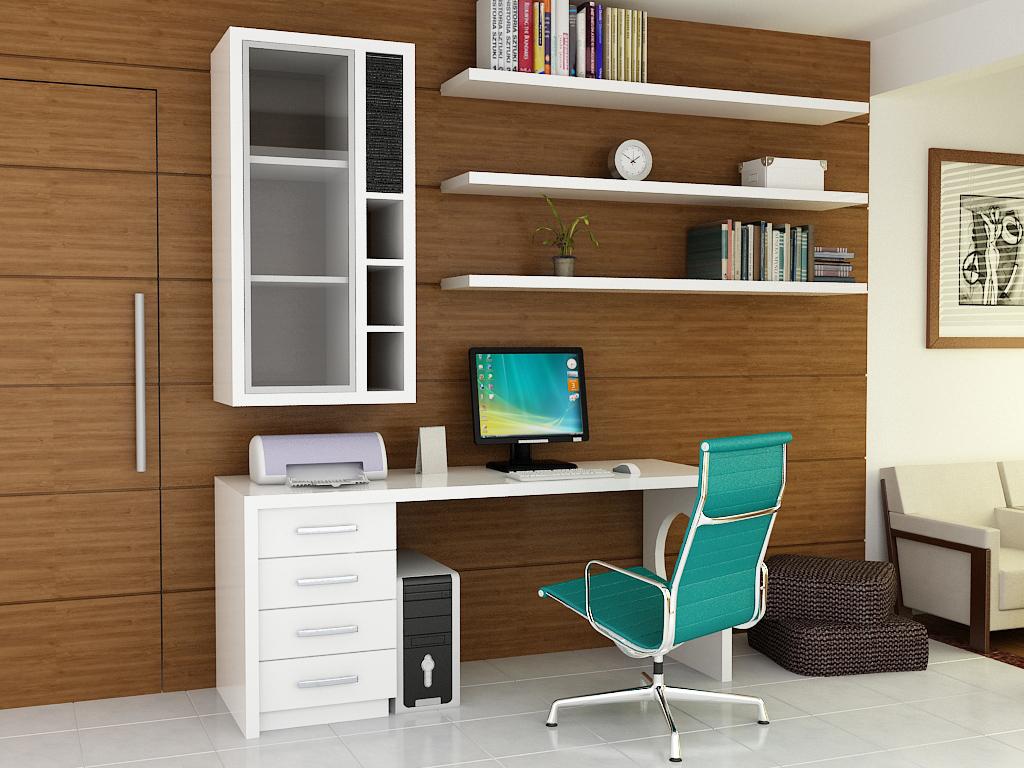 escritorio em casa simples