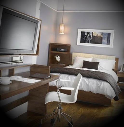escritorio no quarto