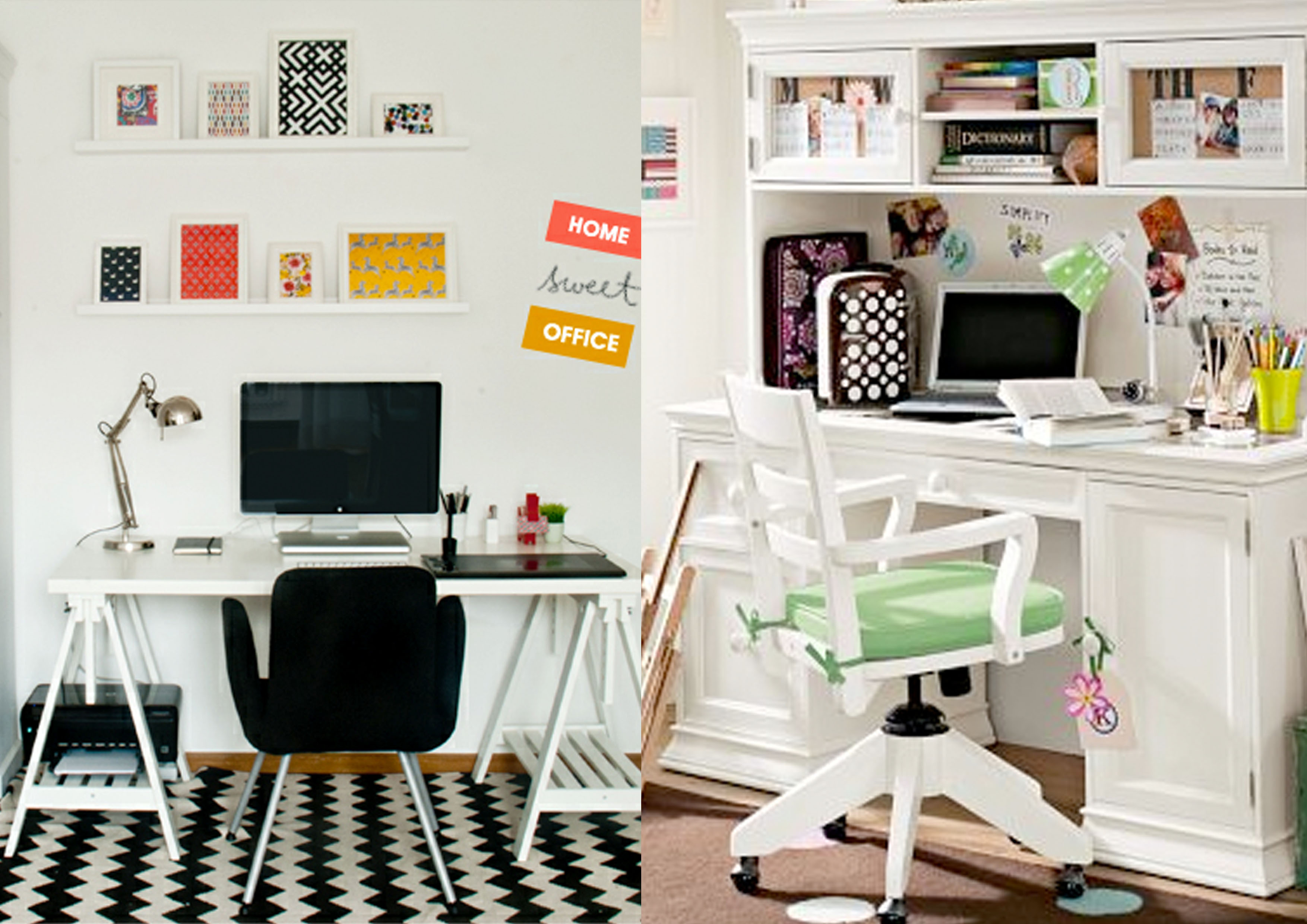 escritorio pequeno em casa