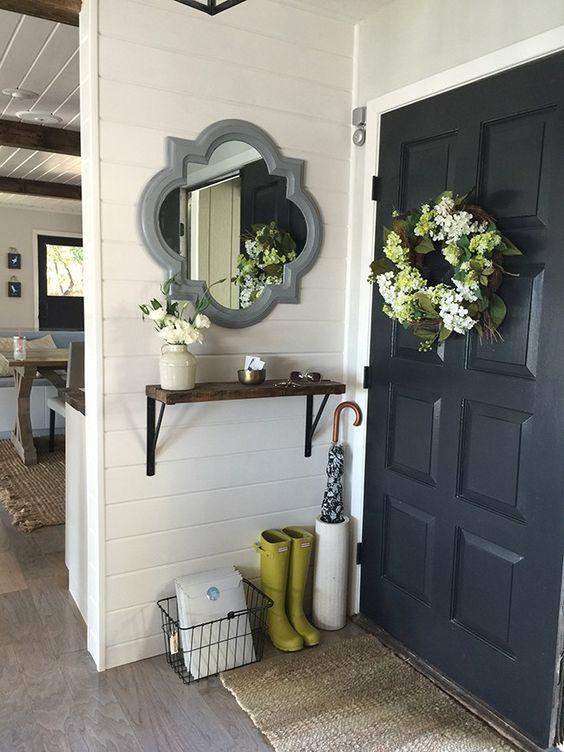 espelhos decoracao entrada 12