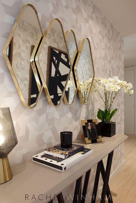 espelhos decoracao entrada
