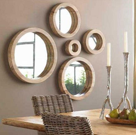 espelhos decorativos sala