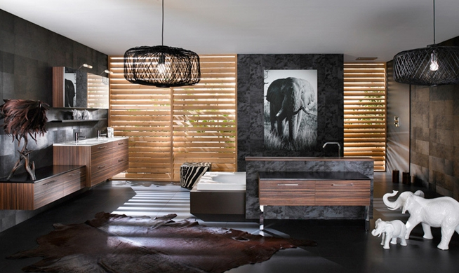 estilo casa banho exotica