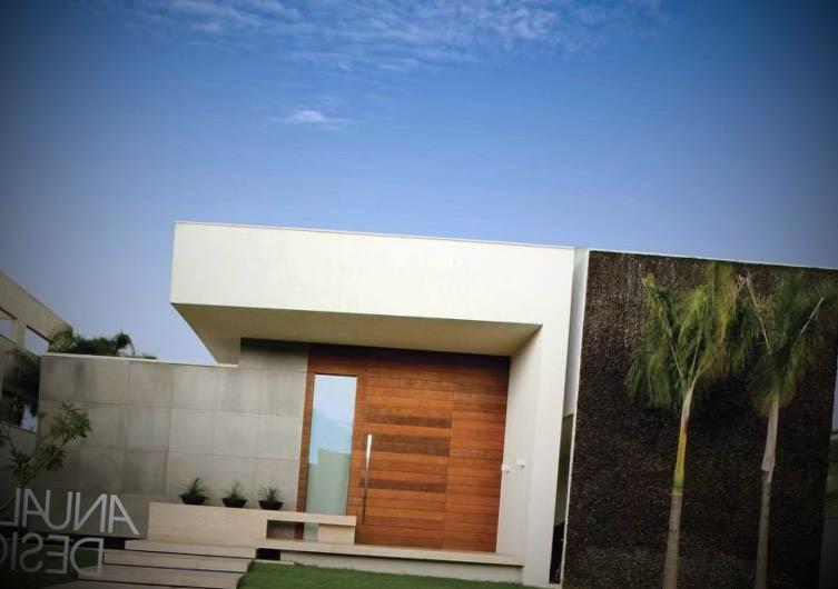 Fachadas de casas de luxo for Fotos de casas modernas terreas