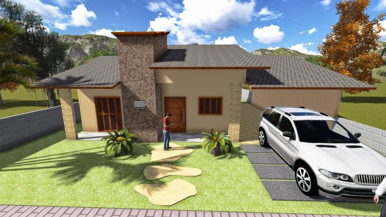 fachadas casa moderna