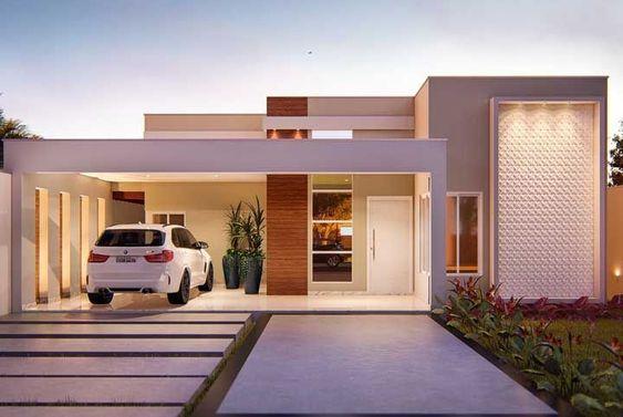 fachadas casas pequenas 1