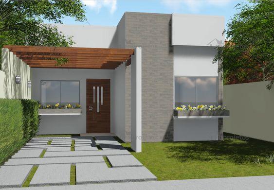 fachadas casas pequenas 6