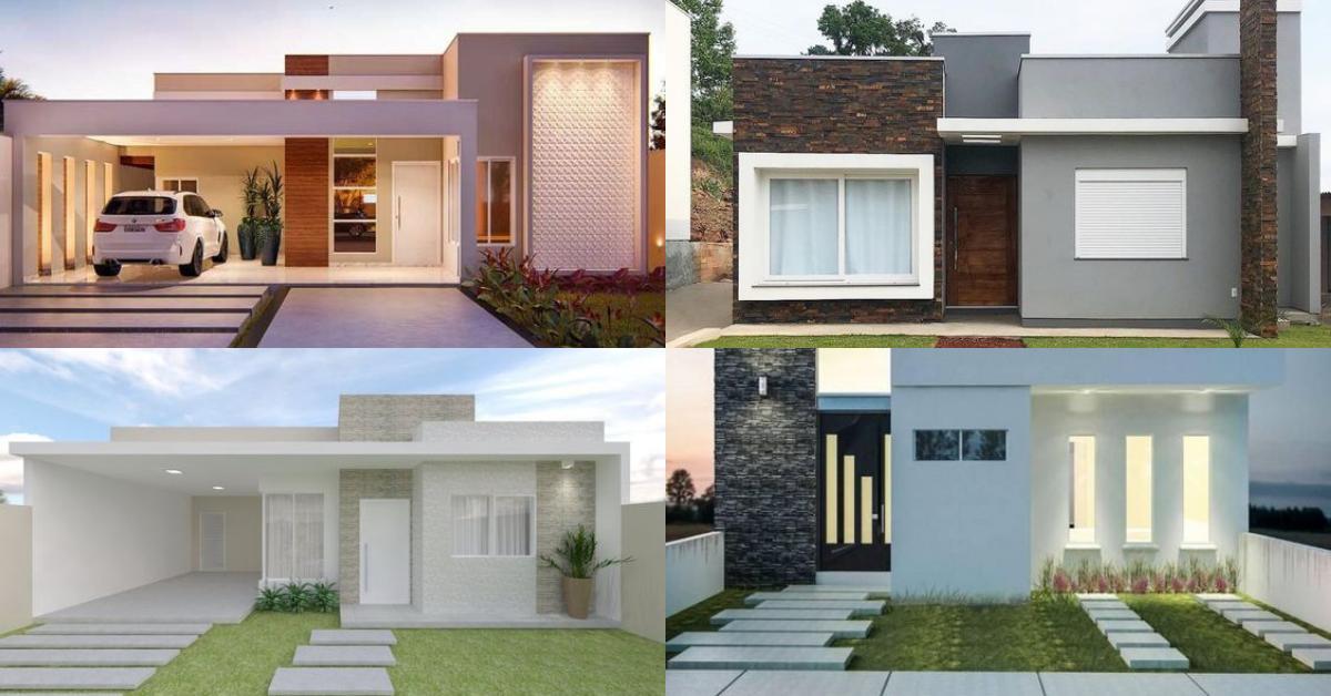 fachadas casas pequenas