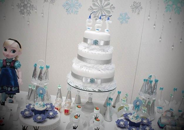festa de aniversario tema frozen