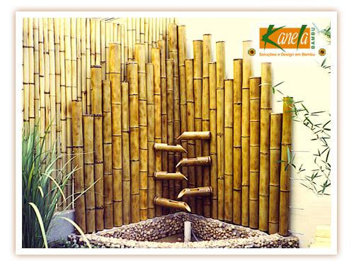 fontes de bambu