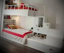 foto cama moderna alta