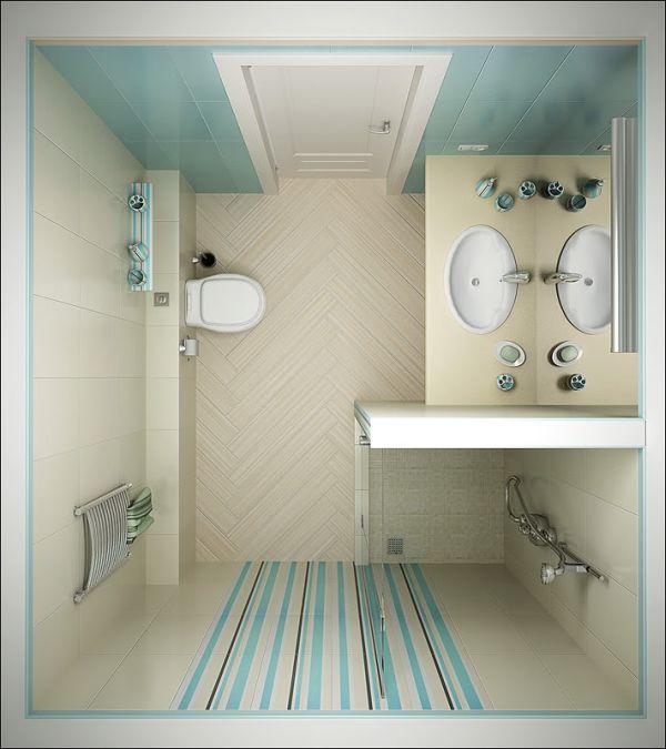 foto casa banho pequena decorada
