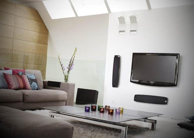 foto sala moderna