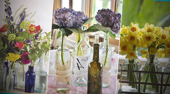 foto vasos de flores