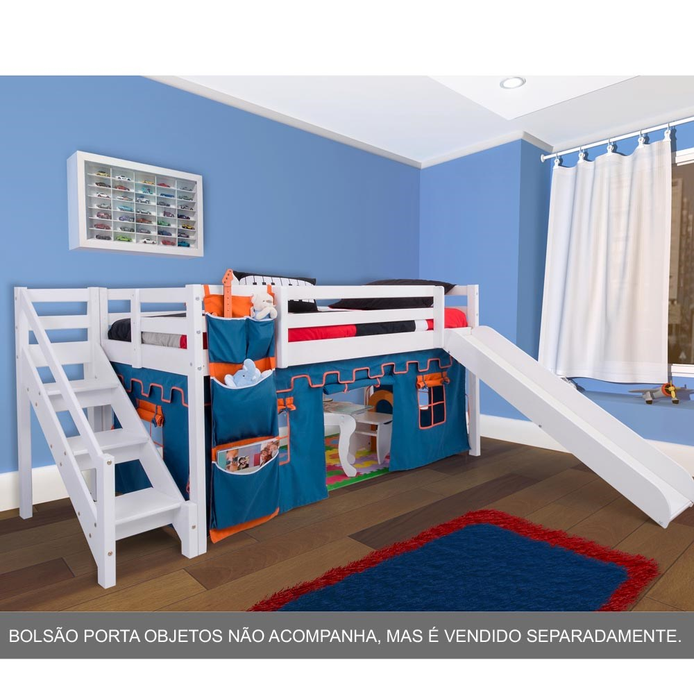 fotos camas infantil com escada