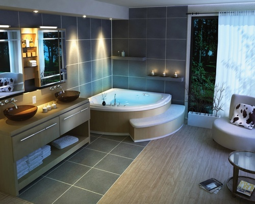 fotos de banheiros de luxos decorados