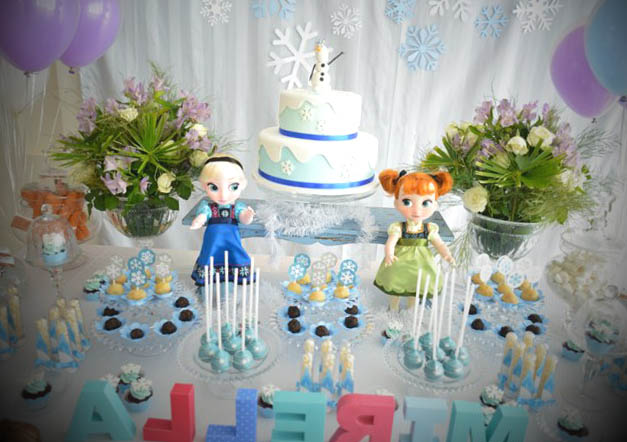 frozen aniversario decoracao