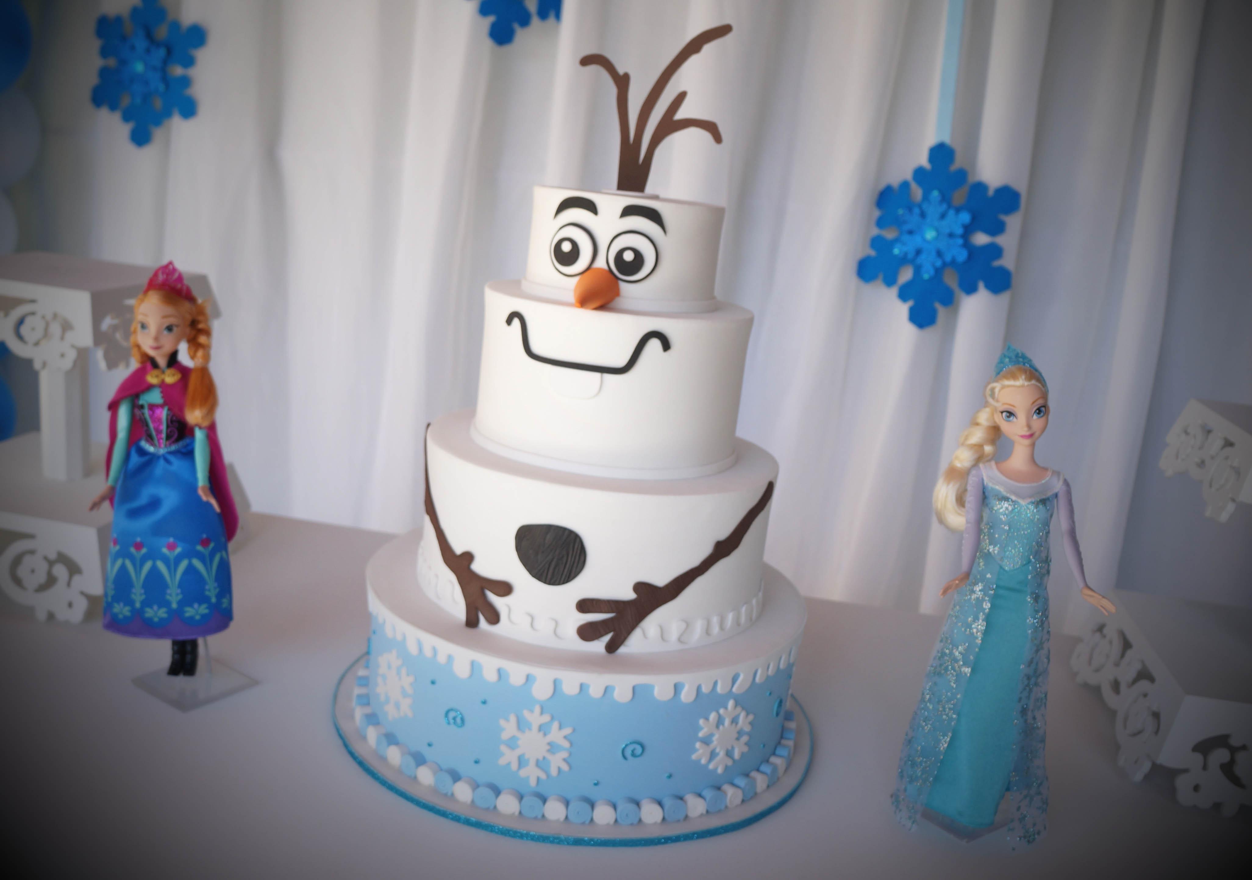 frozen decoracao provencal festa
