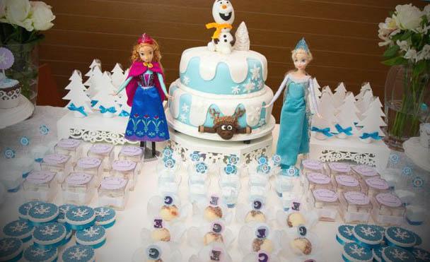 frozen festa aniversario