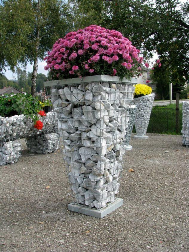 gabioes decorativos jardim 6