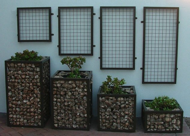 gabioes decorativos jardim 7