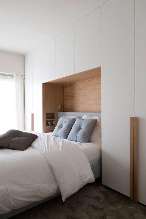 guarda roupa planejado casal cama