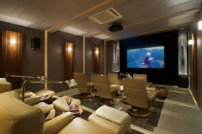 home cinema screen
