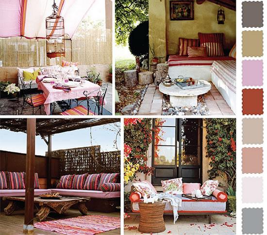 ideas cores decorar jardim exterior