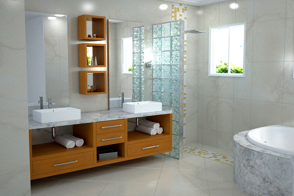 ideias banheiros planejados