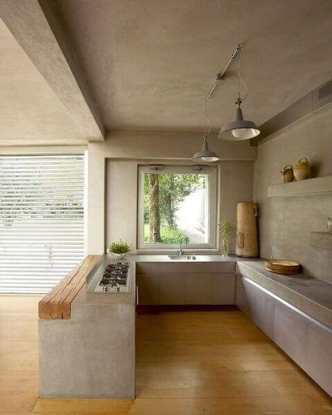 ideias cozinhas concreto