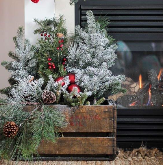 ideias de decoracoes de natal simples 1