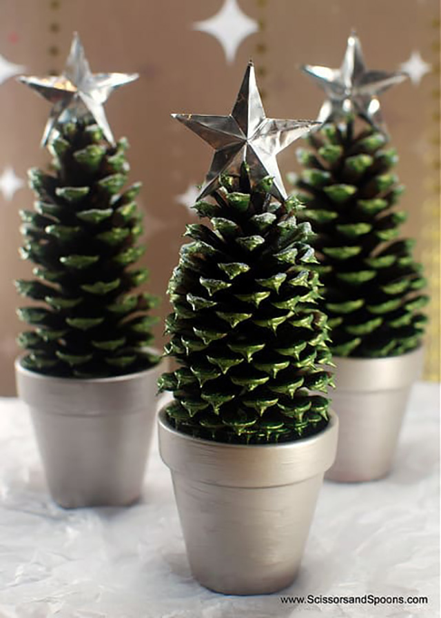 ideias de decoracoes de natal simples 5