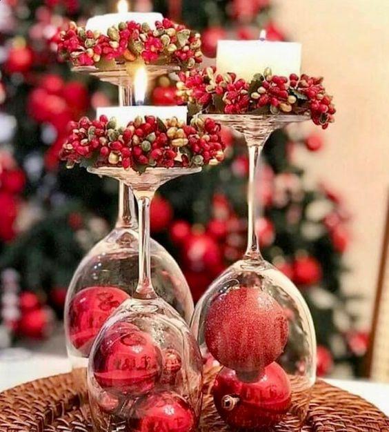 ideias de decoracoes de natal simples 7