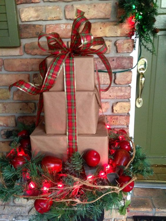 ideias de decoracoes de natal simples 9