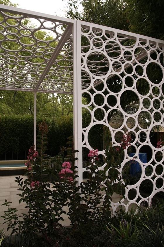 ideias de jardinagem com tubos em pvc 2