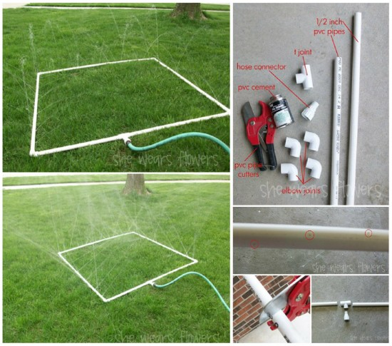 ideias de jardinagem com tubos em pvc 4