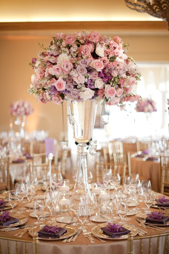 ideias decoracao casamento flores