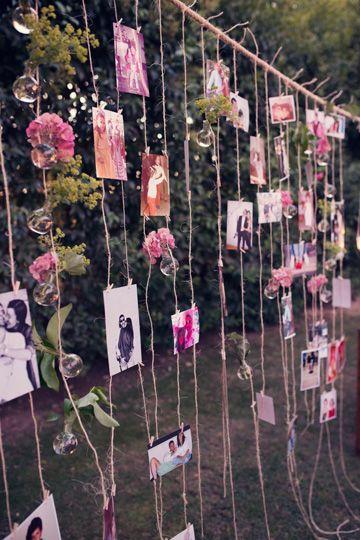 ideias decoracao casamento fotografias