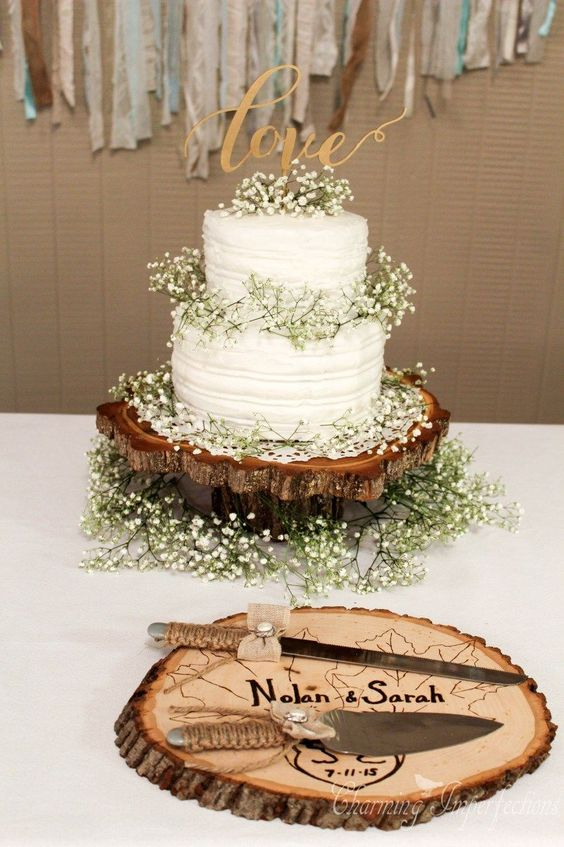 ideias decoracao casamento madeira