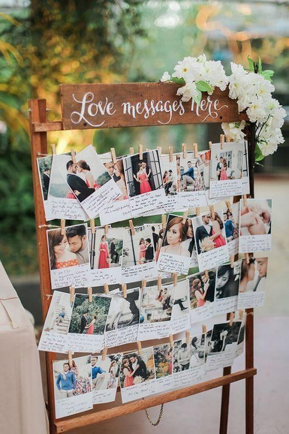 ideias decoracao casamento placard 1