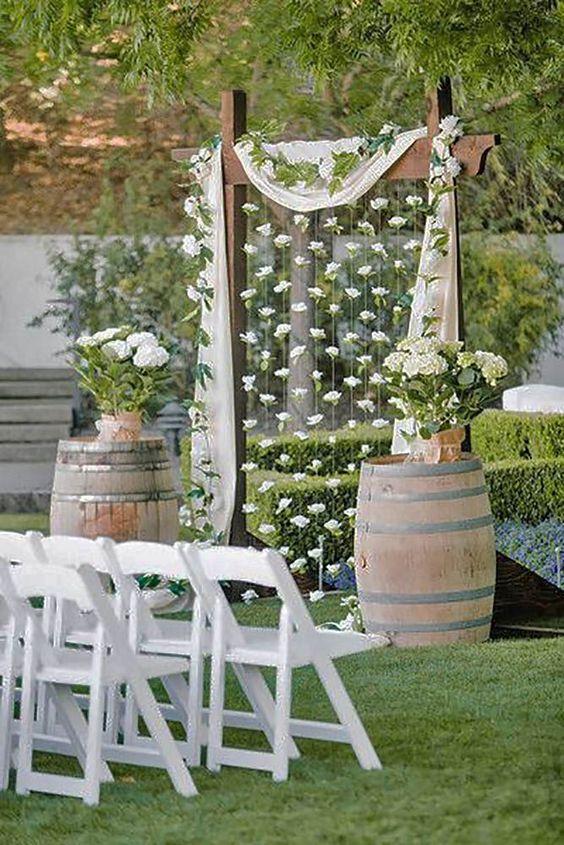 ideias decoracao casamento simples