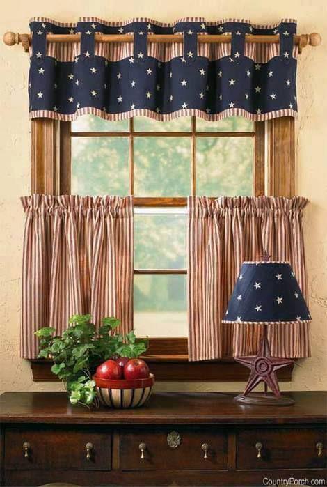 ideias decoracao cortinas cozinha 1