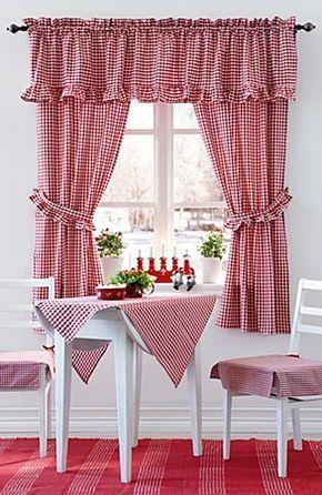 ideias decoracao cortinas cozinha