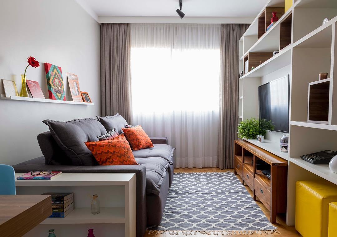 ideias decoracao sala pequena